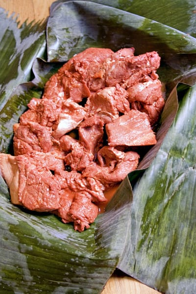 cochinita pibil before cooking