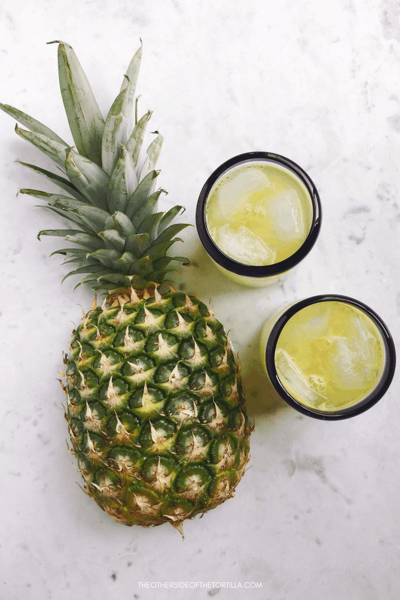 How to make agua de piña, a Mexican pineapple agua fresca