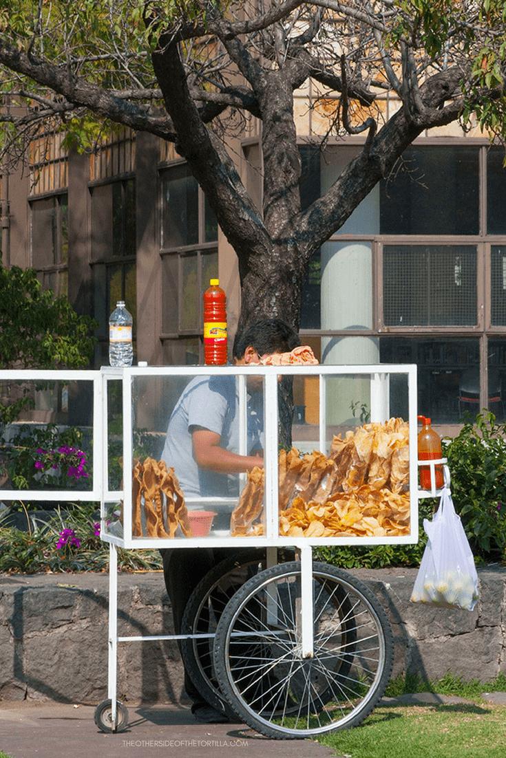 Learn how to make your own chicharrones de harina at home! Via theothersideofthetortilla.com
