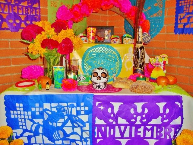Altar for Día de los Muertos by Jessica Seba
