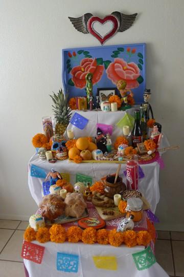 A Día de los Muertos altar by Ericka Sanchez