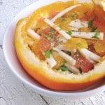 Ensalada xec: Spicy Mayan citrus salad