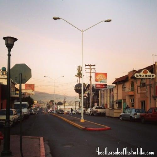 street view Ensenada, Baja, Mexico