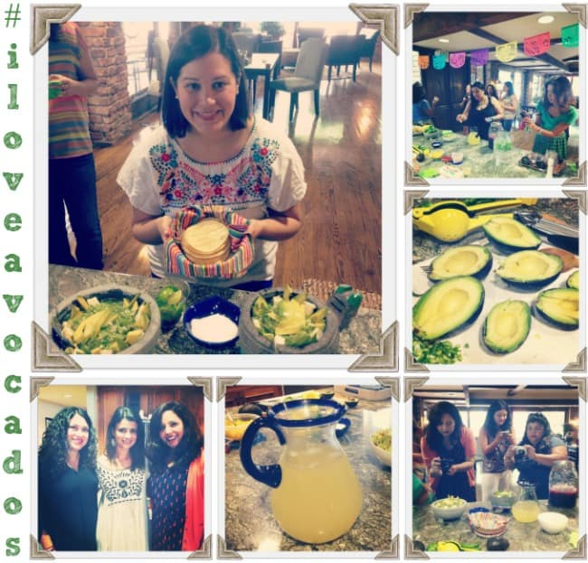 iloveavocados live party with Avocados From Mexico and Latina Bloggers Connect