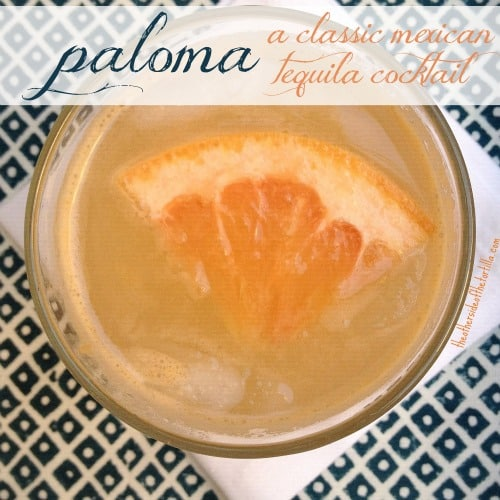 National Tequila Day - Paloma recipe