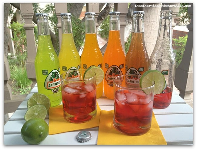 Jarritos fruity tequila cocktails the other side of the for Fun alcoholic drinks to make