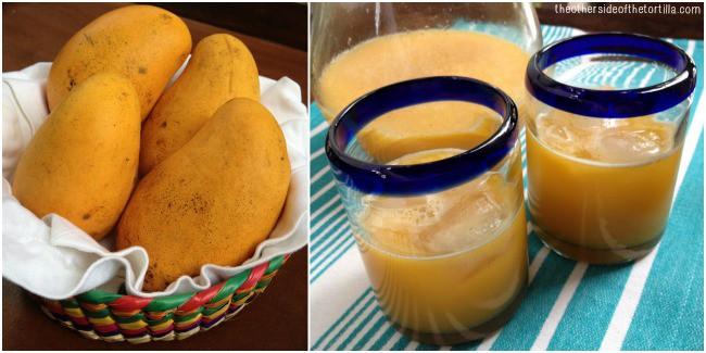 AGUA FRESCA: Agua de mango