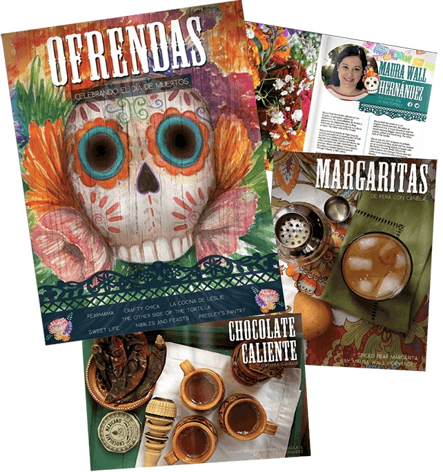 Day of the Dead ebook: Recipes and Crafts to celebrate Día de los Muertos