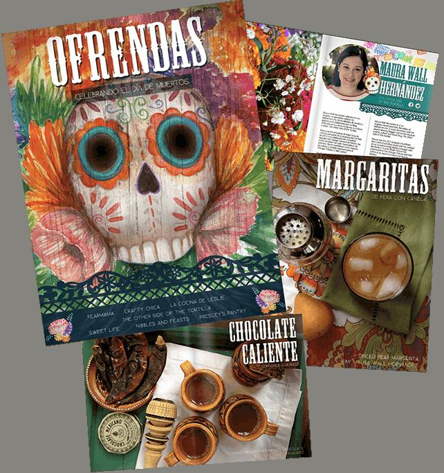 Day of the Dead ebook: Recipes and Crafts to celebrate Día de los Muertos