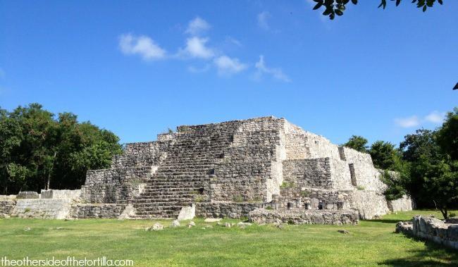 Pyramid at Dzibilchaltún