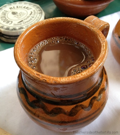 Spicy Mexican Hot Chocolate - The Other Side of the Tortilla