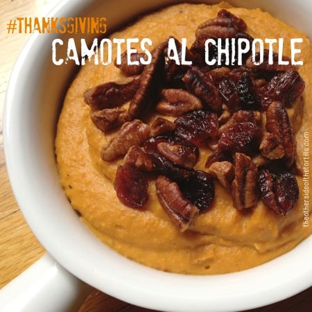 Mexican-inspired sweet potatoes // Camotes al chipotle