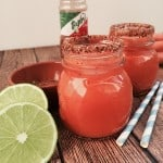 Mexican-style carrot lime juice with chile