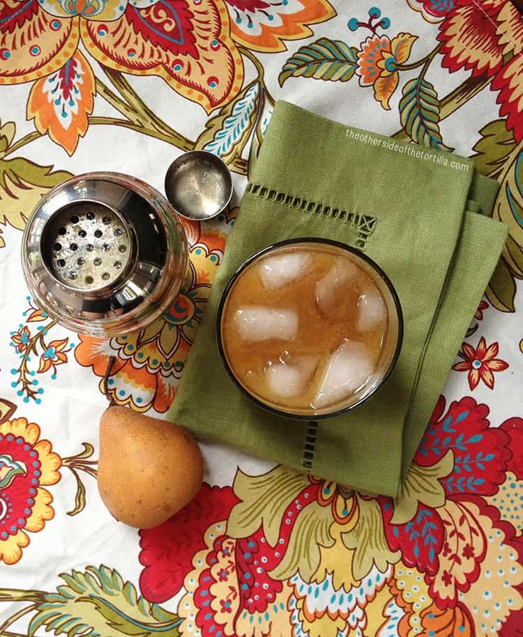 spiced pear margarita recipe