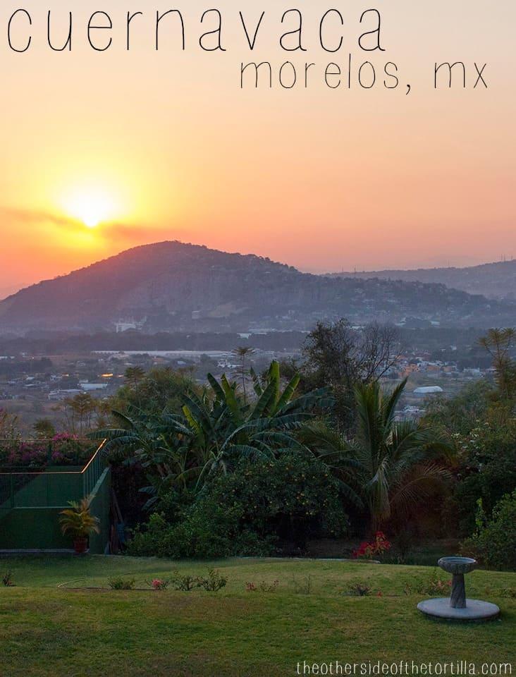 Sunset in Cuernavaca, Morelos, Mexico | theothersideofthetortilla.com