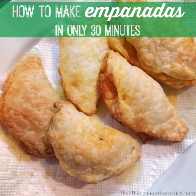 How to make quick, easy, semi-homemade empanadas in 30 minutes