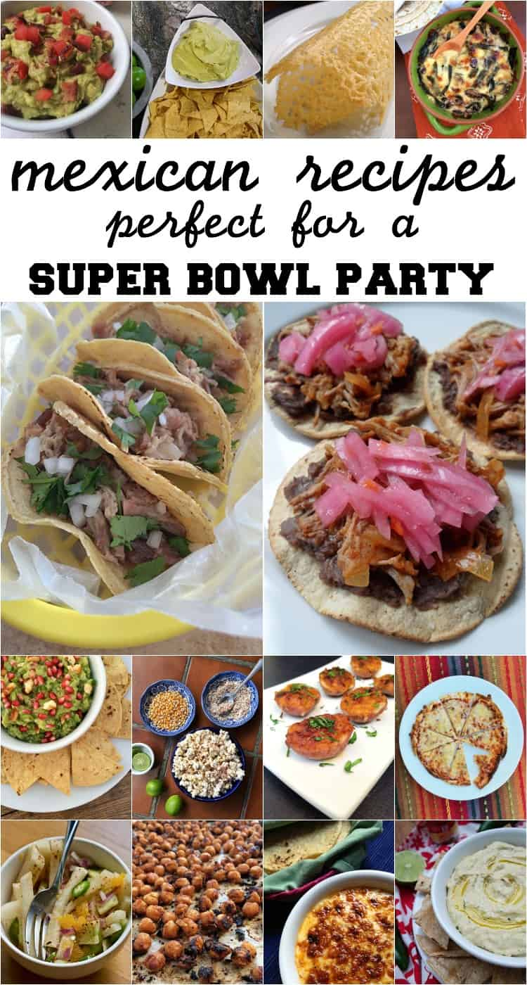 Mexican snacks for super bowl sunday the other side of the tortilla heres my list of 20 super bowl approved snacks easy mexican recipes that can either be prepared a day ahead of time or quickly before you head out to forumfinder