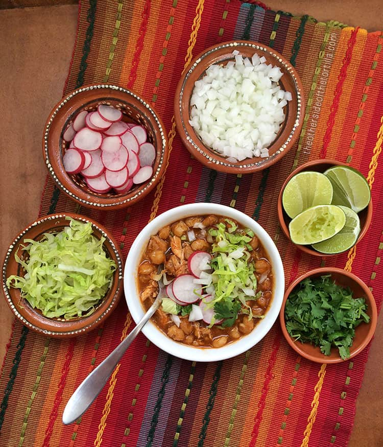 Slow-cooker pozole rojo - The Other Side of the Tortilla