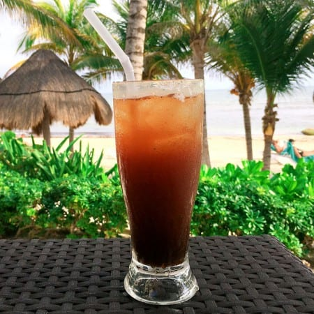 Ojo rojo, also known as a Clamato preparado, is a great Mexican hangover cure. Visit theothersideofthetortilla.com for more Mexican hangover cures!