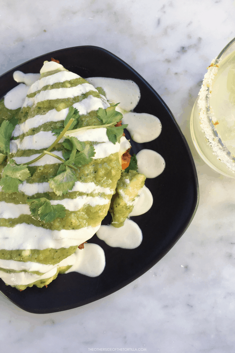 What to order at Gracias Madre in West Hollywood: Plantain and tempeh chorizo quesadilla