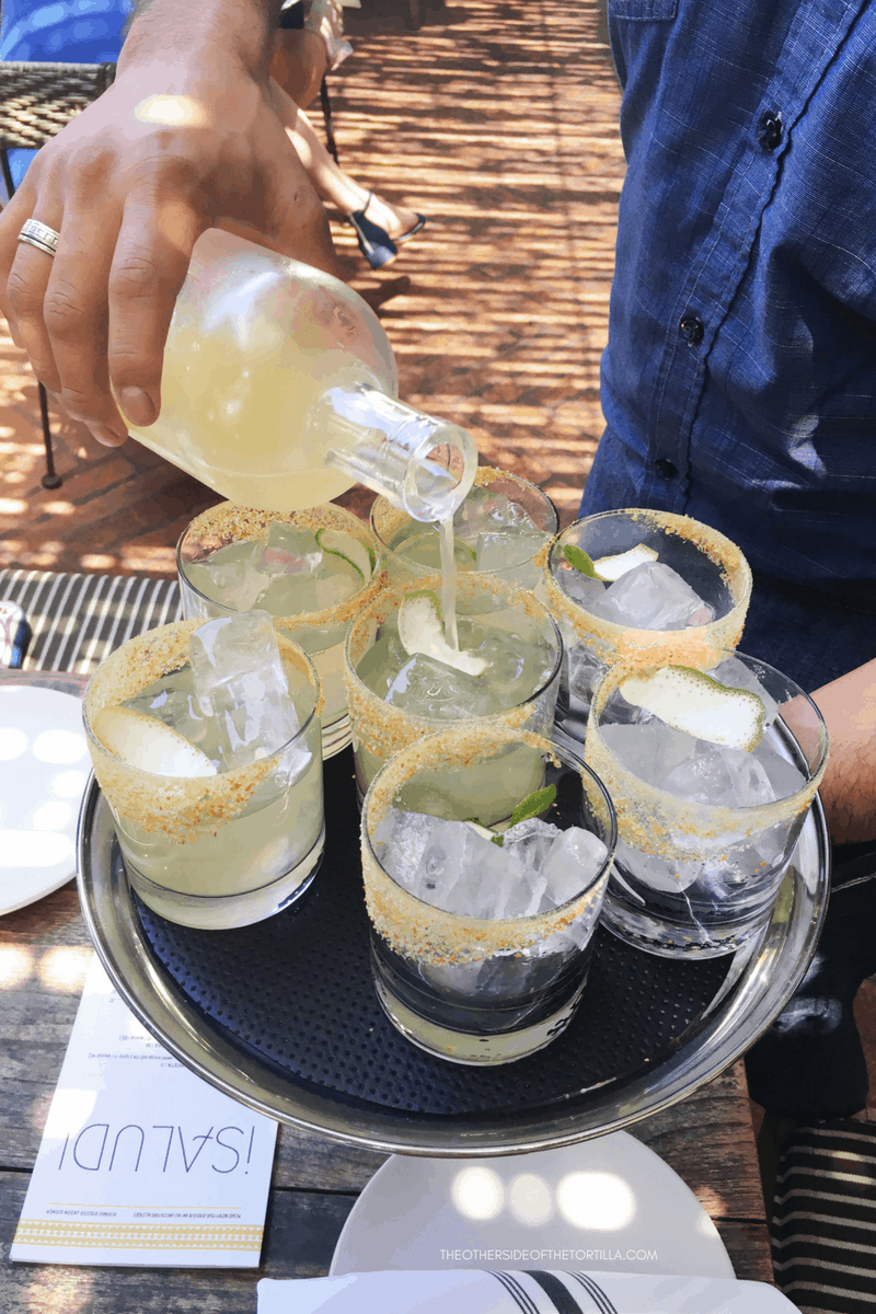 What to order at Gracias Madre in West Hollywood: Pitcher of Purista house margaritas