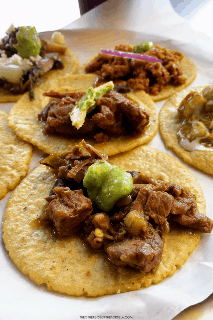 Taco de bistec from Guisados in Los Angeles, California