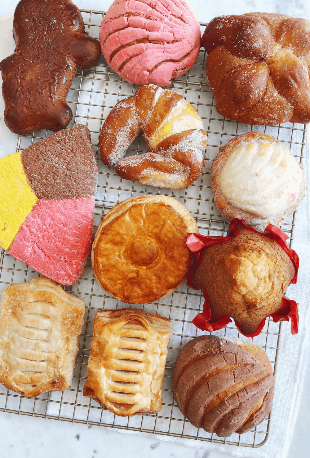 Guide to Mexican pan dulce
