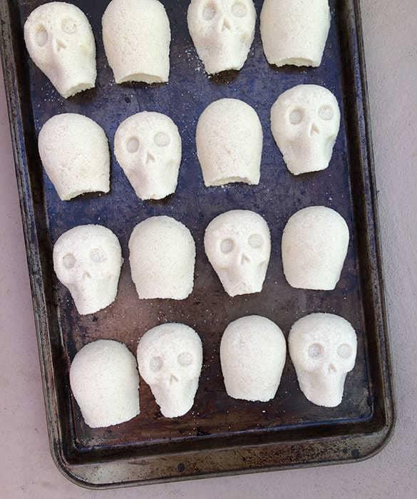 sugar skulls drying out